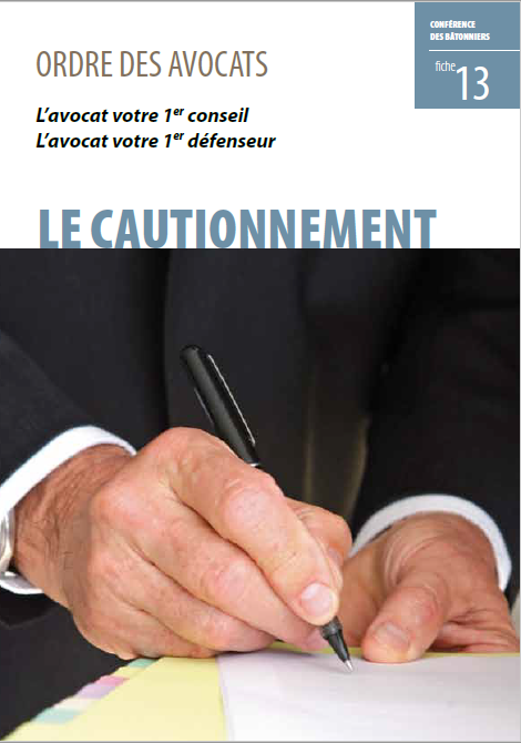 13 Le cautionnement