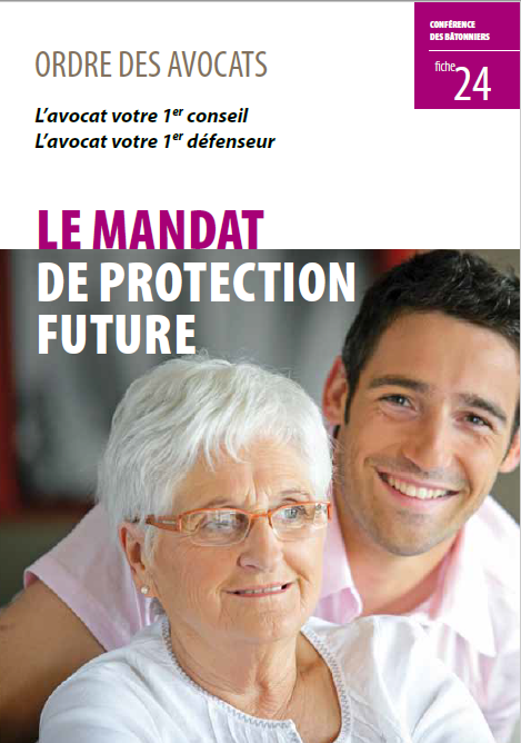 24 Le mandat de protection future